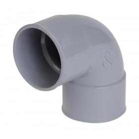 NICOLL Coude femelle-femelle 87°30 - CF88 - PVC gris - diamètre 32 mm NICOLL CF88