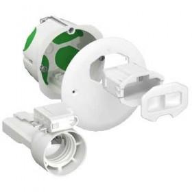 SCHNEIDER Boîte d'applique avec couvercle affleurant, connect, douille Multifix Air DCL IMT35026