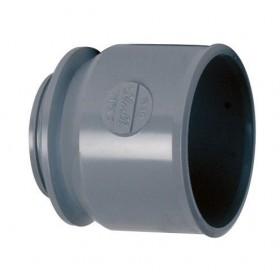 NICOLL Manchette d'adaptation femelle - MFA4 - PVC gris - diamètre 40 mm NICOLL MFA4