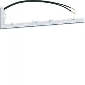 HAGER Bande lumineuse pour plaque double horizontale HAGER GALLERY PURE WXA012 WXA012