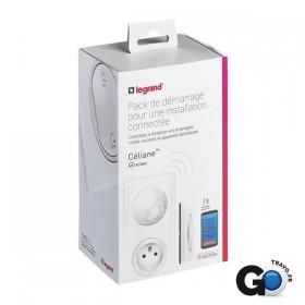 LEGRAND Pack de démarrage installation connecté NETATMO Legrand Céliane 067700 067700