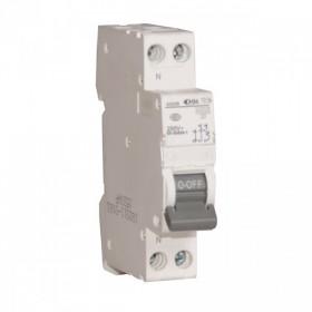 OHMTEC Disjoncteur 1P+N 16 A à vis courbe C 4,5 kA OHMTEC 423236 423236