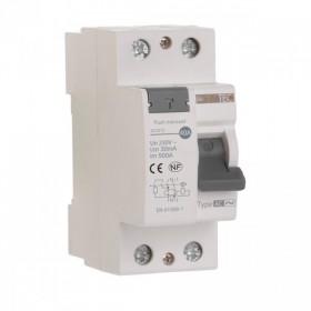OHMTEC Interrupteur differentiel 30 mA 25 A Type AC à vis OHMTEC 423311 423311