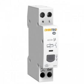 OHMTEC Télérupteur silencieux 16A Modulaire OHMTECH 423412 423412