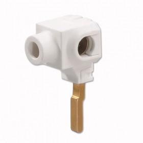 OHMTEC Borne d'alimentation 63 A 35 mm2 pour disjoncteur / intterupteur differentiel 423614