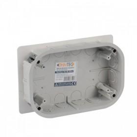 OHMTEC Boite dérivation encastrable électrique 100x160x40 mm OHMTEC 438324 438324