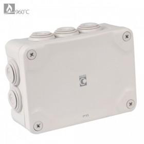 OHMTEC Boite étanche électrique évolutive IP65 105x150x55 mm OHMTEC 438412 438408