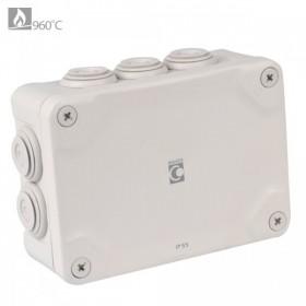 OHMTEC Boite étanche électrique évolutive IP65 175x150x80 mm OHMTEC 438410 438410