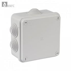 OHMTEC Boite dérivation étanche électrique 105x105 mm OHMTEC 438433 438433