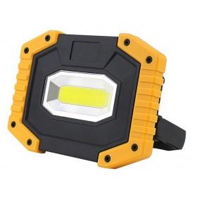 GOTRAVO Projecteur LED 20 Watts portable 400 LM prise USB LED Rectangle rechargeable GO000006