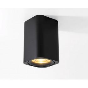 GOTRAVO Plafonnier carré Noir LED Blanc Froid 9 watts éclairage décoratif design moderne GO000026