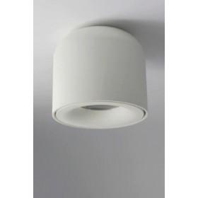 GOTRAVO Plafonnier fixe petit tube Blanc Led Blanc chaud 7 Watts éclairage décoratif des GO000029