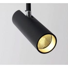GOTRAVO Spot cylindre Noir LED 7 watts Blanc Froid Orientable GO000038