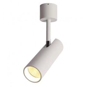 GOTRAVO Spot cylindre Blanc LED 7 watts Blanc Chaud Orientable GO000040
