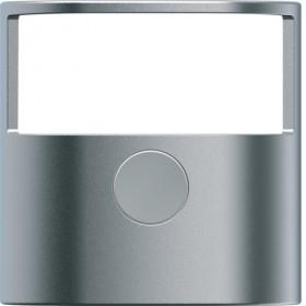 HAGER Enjoliveur interrupteur automatique TITANE HAGER GALLERY WXD050T WXD050T