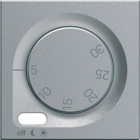 HAGER Enjoliveur thermostat d'ambiance TITANE HAGER GALLERY WXP315T WXD315T