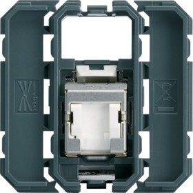 HAGER Prise RJ45 cat.6E STP GRADE 3 HAGER GALLERY WXF228 WXF228