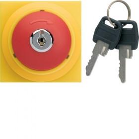 HAGER Arrêt d'urgence à clé HAGER GALLERY WXF610 WXF610
