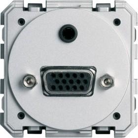 HAGER Prise SUB-D 15 (VGA+minijack) à vis HAGER GALLERY WXF641 WXF641