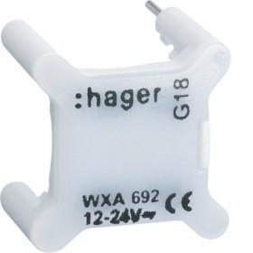 HAGER Voyant BLANC universels témoin ou signalisation 12/24V HAGER GALLERY WXA695 WXA695