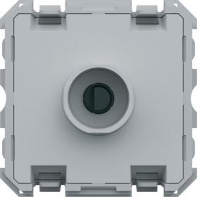 HAGER Variateur poussoir compatible LED 10A HAGER GALLERY WXF061 WXF061