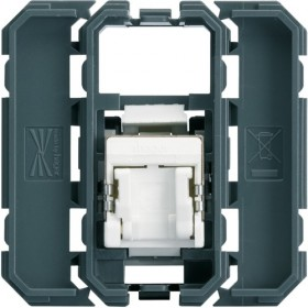 HAGER Prise RJ45 cat.5E FTP HAGER GALLERY WXF222 WXF222