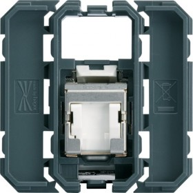 HAGER Prise RJ45 cat.6E STP GRADE 2 HAGER GALLERY WXF226 WXF226