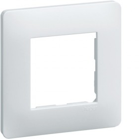 HAGER Lot 50 Plaques 1 Poste Blanc WE40150 Essensya Hager WE40150
