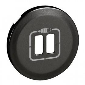 LEGRAND Enjoliveur 2xchargeur usb graphite LEGRAND 067956 067956