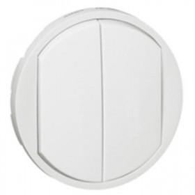 LEGRAND Enjoliveur blanc coupure double LEGRAND 068002 068002