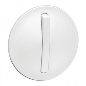 LEGRAND Enjoliveur simple doigt etroit blanc LEGRAND 065001 065001