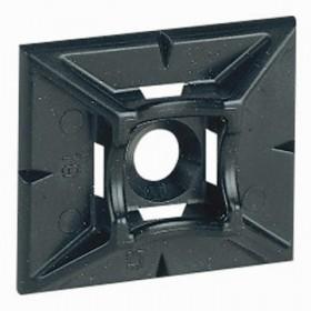 LEGRAND Embase adhesive noire Legrand Fixation professionnel 032067