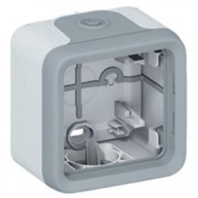 LEGRAND Boitier 1 poste gris composable 069651