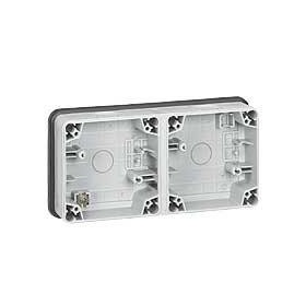 LEGRAND Boitier 2 postes horizontal composable 090493