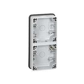 LEGRAND Boitier 2 postes vertical composable 090492