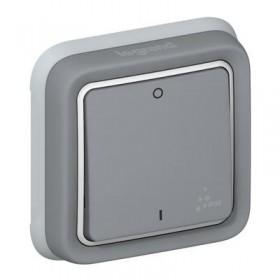 LEGRAND Interrupteur bipolaire gris composable 069530