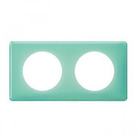 LEGRAND Plaque 2 postes turquoise 50s 066642 LEGRAND 066642