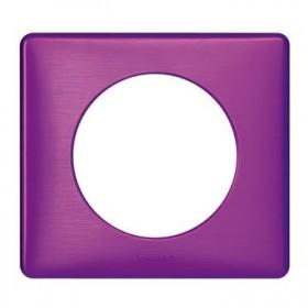 LEGRAND Plaque 1 Poste VIOLET IRISE 068711 LEGRAND 068711 LEGRAND 068711