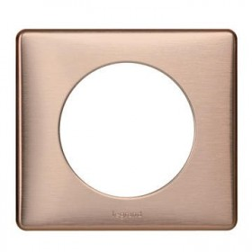 LEGRAND Plaque 1 Poste COPPER 068991 LEGRAND 068991 LEGRAND 068991