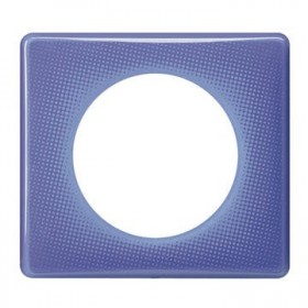 LEGRAND Plaque céliane 1 poste - finition 90's ( violet ) 066661 LEGRAND 066661