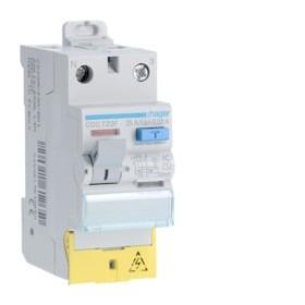 HAGER Interrupteur Differentiel 2 Pôles 25A 30mA AC bornes décalées CDC722F