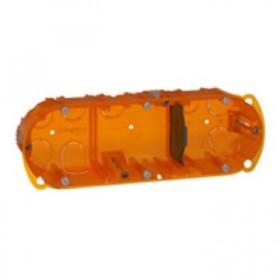 LEGRAND Boitier batibox multi matériaux 3 postes p40mm 080103