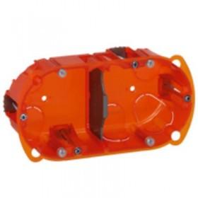 LEGRAND Boitier batibox multi matériaux 2 postes prof 50mm 080122