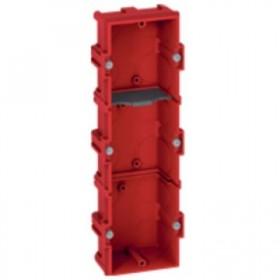 LEGRAND Boitier batibox maçonnerie 3 postes profondeur 40mm 080143