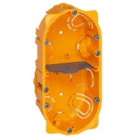 LEGRAND Boitier batibox cloison sèche 2 postes profondeur 40mm 080042