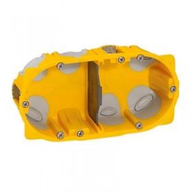 LEGRAND Boitier energy 2 postes d67mm 50mm 080032