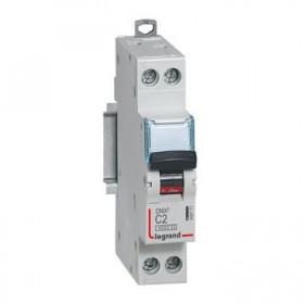 LEGRAND Disjoncteur DNX3 1P+NG Courbe C 2 4500A/6KA LEGRAND 406771 406771