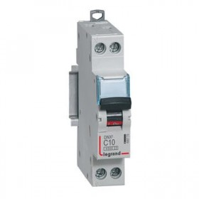 LEGRAND Disjoncteur DNX3 1P+NG Courbe C 10 4500A/6KA LEGRAND 406773 406773