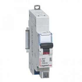 LEGRAND Disjoncteur DNX3 1P+NG Courbe C 6 4500A/6KA automatique LEGRAND 406781 406781