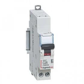 LEGRAND Disjoncteur DNX3 1P+NG Courbe C 25 4500A/6KA automatique LEGRAND 406785 406785
